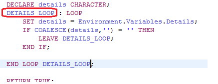 That LOOP label looks to be non-descriptive